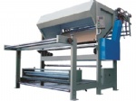 fabric rolling & dropping machine